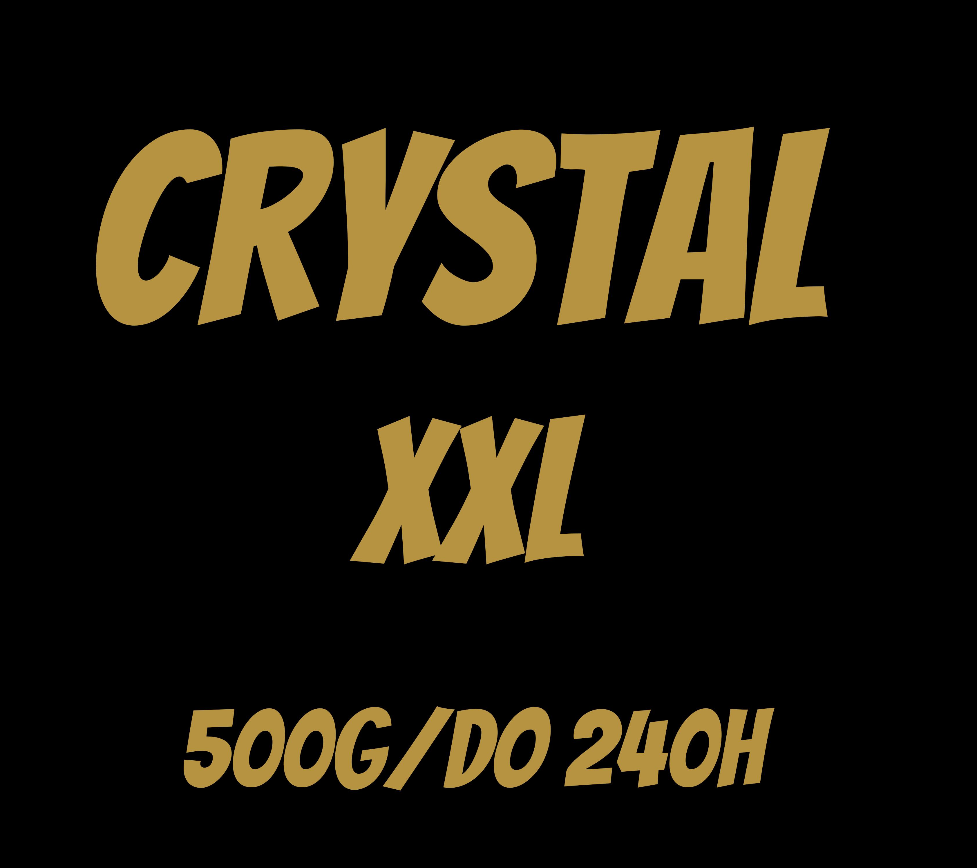 Świece rzepakowe - Crystal XXL