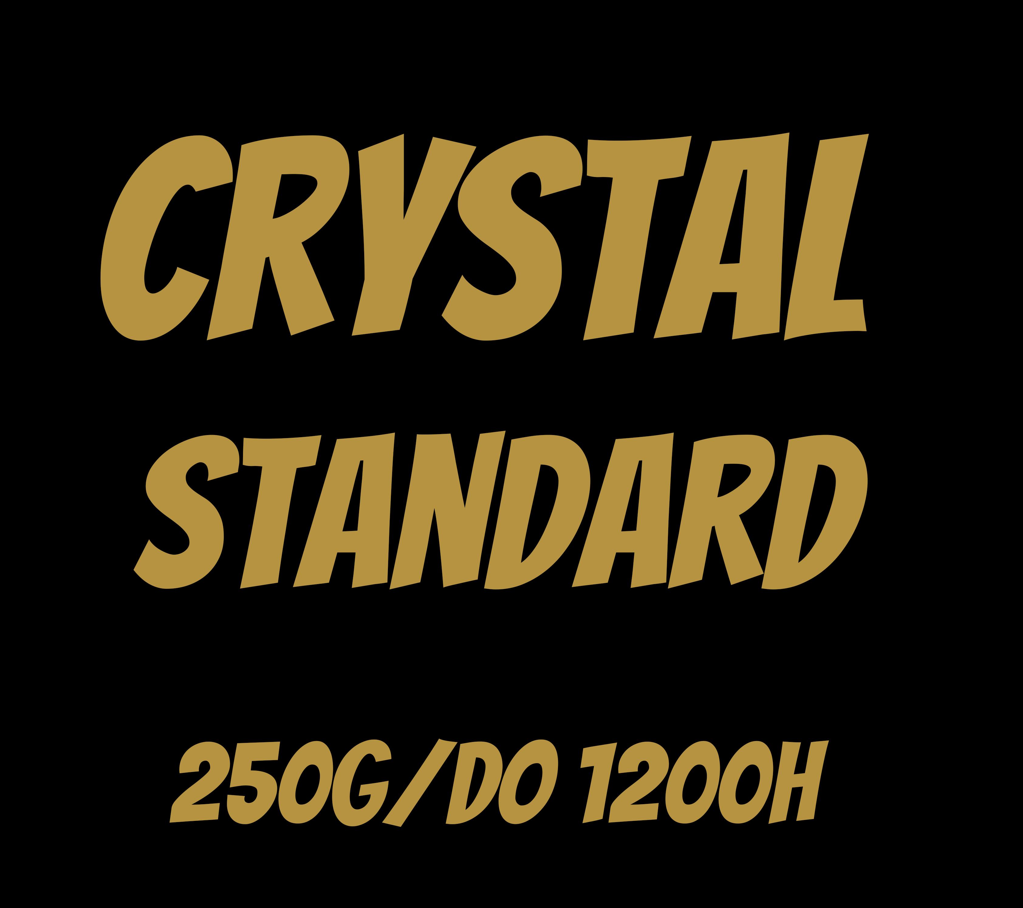 Świece rzepakowe - Crystal standard